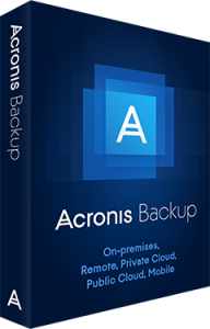 Acronis Backup 12.5 Advanced Workstation